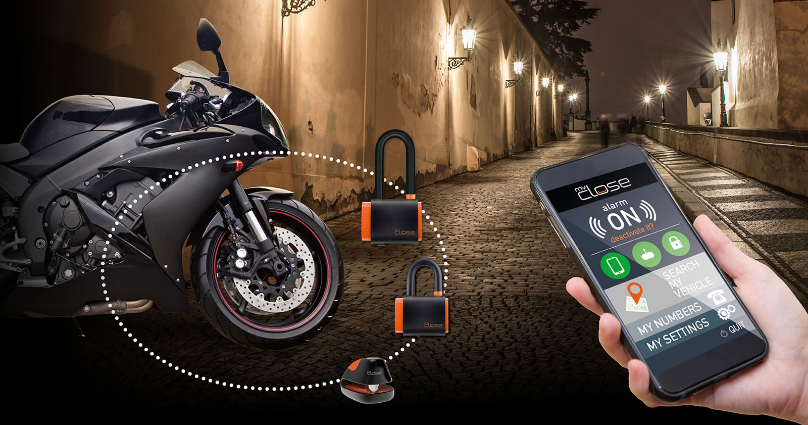 Lock Smart Motorcycle