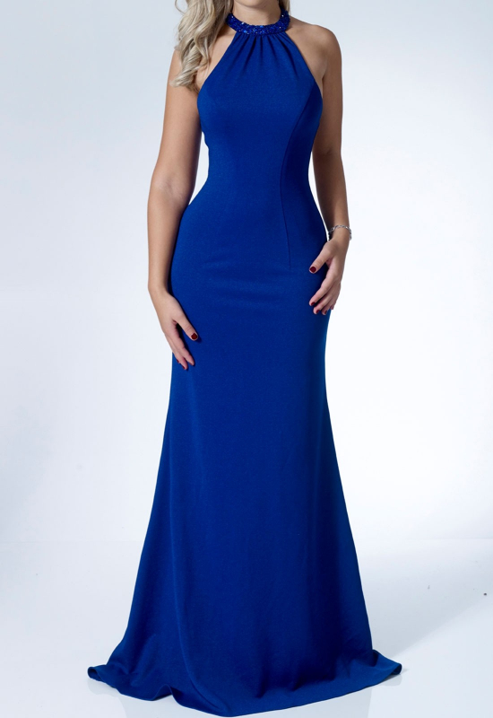 blue dress for women